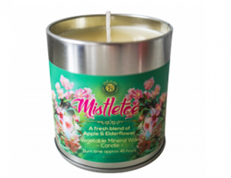 Buy scented mistletoe Christmas candle online
